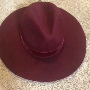 NWT Forever 21 Red Fedora
